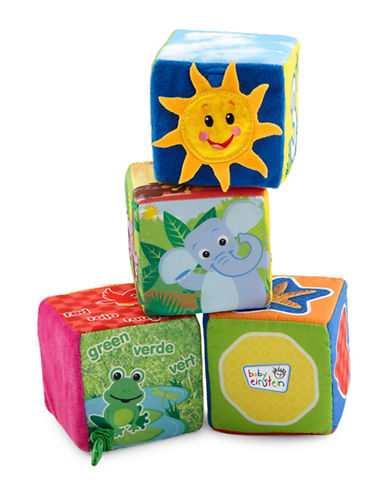 Baby Einstein Explore and Discover Soft Blocks-MULTI-3 Months