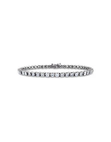 Concerto 5 CT  Diamond TW 14k White Gold Bracelet-DIAMOND-One Size