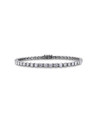 Concerto 6 CT  Diamond TW 14k White Gold Bracelet-DIAMOND-One Size
