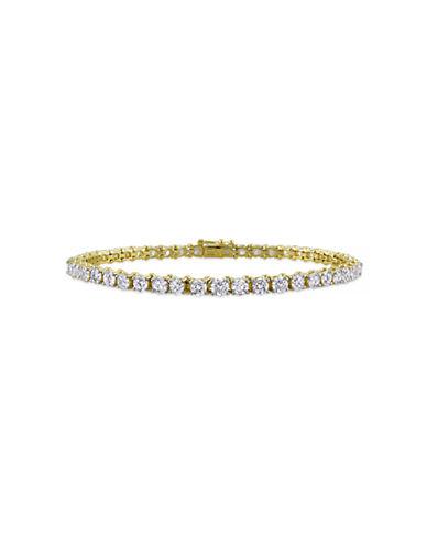 Concerto 6 CT  Diamond TW 14k Yellow Gold Bracelet-DIAMOND-One Size