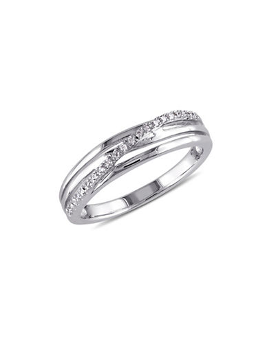 Concerto Diamond Sterling Silver Multi-Band Ring-DIAMOND-6