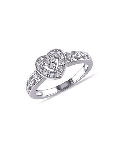 Concerto Openwork Diamond Heart Ring-DIAMOND-8
