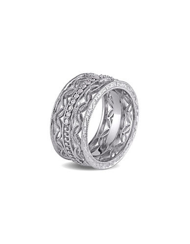 Concerto 0.167TCW Diamond Sterling Silver Fashion Ring-DIAMOND-6