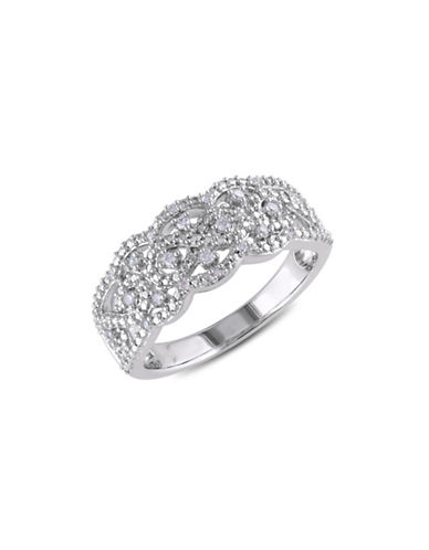 Concerto .10 CT Diamond and Sterling Silver Fashion Ring-DIAMOND-5