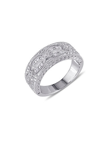 Concerto Diamond and Sterling Silver Lacy Ring-DIAMOND-8