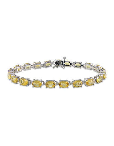 Concerto Sterling Silver and Citrine Bracelet-CITRINE-One Size