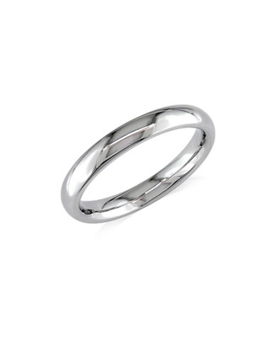 Concerto 14K White Gold Thin Comfort-Fit Wedding Band-WHITE GOLD-6