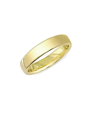 Concerto 14K Yellow Gold Euro Comfort-Fit Wedding Band-GOLD-8