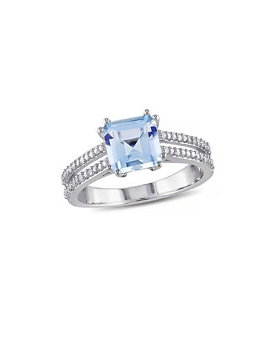 Concerto 2TCW Blue Topaz and Diamond Accent Ring-TOPAZ-7