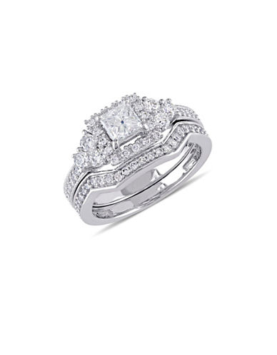 Concerto 14K White Gold Halo 1.25 TCW Diamond Bridal Set-DIAMOND-5
