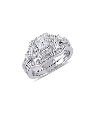 Concerto 14K White Gold Halo 1.25 TCW Diamond Bridal Set-DIAMOND-9