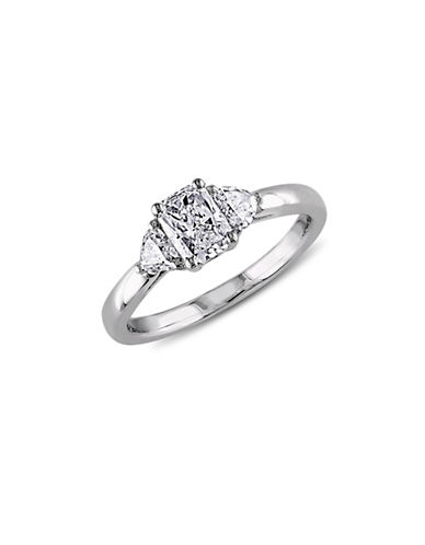 Concerto 14K White Gold Radiant-Cut 1 TCW Diamond Engagement Ring-DIAMOND-9
