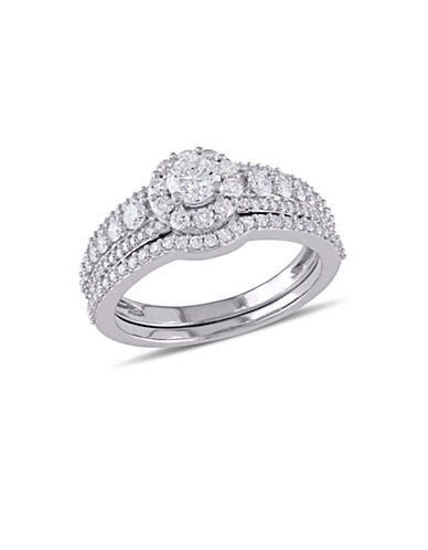 Concerto 14K White Gold Halo 1.10 TCW Bridal Set-DIAMOND-5