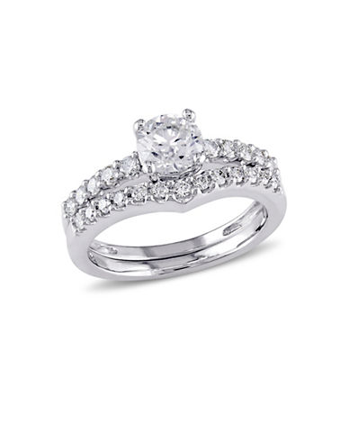 Concerto 14K White Gold 0.89 TCW Diamond Bridal Set-DIAMOND-7