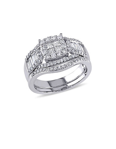 Concerto 14K White Gold Multi-Shape 1.25 TCW Diamond Bridal Set-DIAMOND-5