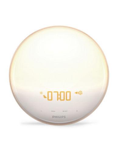 Philips Sunrise Simulation Alarm Clock-WHITE-One Size 89433457_WHITE_One Size