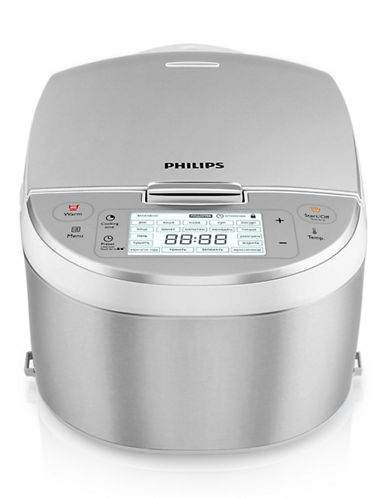 Philips 10 in 1 Multicooker-STAINLESS STEEL-One Size