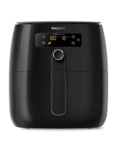Philips Turbostar Digital Air Fryer-BLACK-One Size