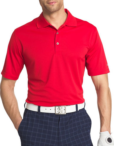 Izod Regular-Fit Golf Polo-RED-Medium