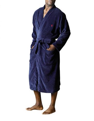 Polo Ralph Lauren Kimono Robe-BLUE-Large/X-Large