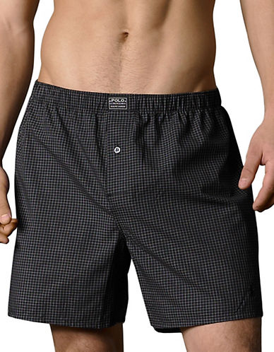 Polo Ralph Lauren Connoisseur Boxer-BLACK-Large