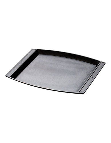 Lodge Cast Iron Rectangular Griddle-BLACK-One Size