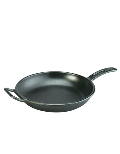 Lodge 12 inch Pre Seasoned Cast Iron Skillet-BLACK-One Size