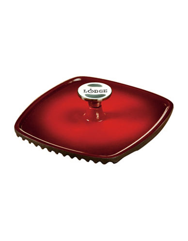 Lodge Panini Press-RED-One Size