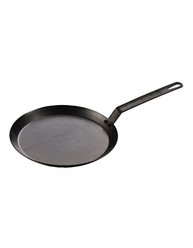 Lodge 11 inch Seasoned Carbon Steel Griddle.-BLACK-One Size