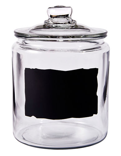 Anchor Hocking Heritage Hill Chalkboard Jar-CLEAR-One Size