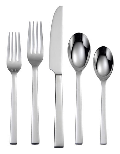 Oneida Chefs Table 65-Piece Flatware Set-SILVER-One Size