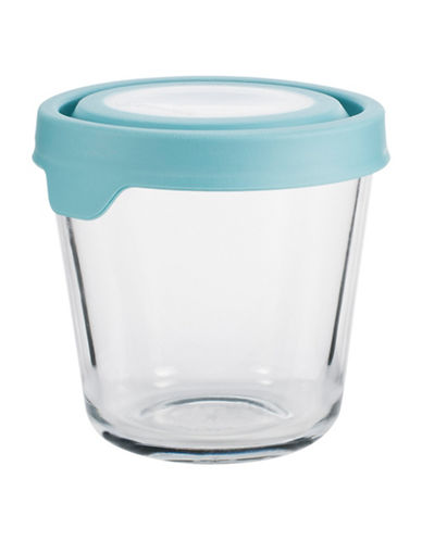 Anchor Hocking TrueSeal 3.5-Cup Round Tall Glass Container with Lid-CLEAR-One Size