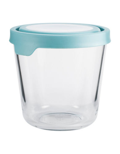 Anchor Hocking TrueSeal 7 Cup Round Tall Food Storage and Lid-BLUE-One Size 89201911_BLUE_One Size