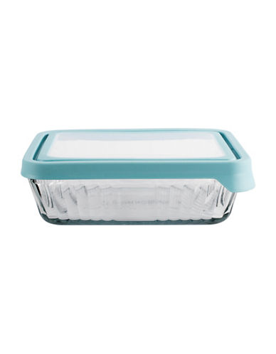 Anchor Hocking TrueSeal Rectangular Food Storage-BLUE-One Size