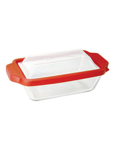 Anchor Hocking 1.5qt Loaf Pan with True Fit Lid-CLEAR-1.5