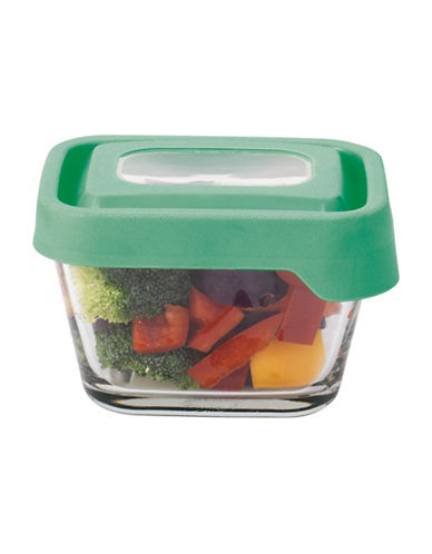 Anchor Hocking TrueSeal 1.875-Cup Rectangular Glass Food Storage with Lid-CLEAR-One Size