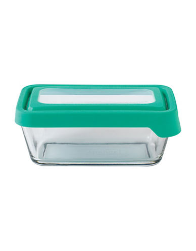 Anchor Hocking TrueSeal 4.75-Cup Rectangular Glass Food Storage with Lid-CLEAR-One Size
