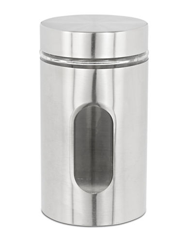 Anchor Hocking 36oz Stainless Steel Cylinder Jar-SILVER-One Size