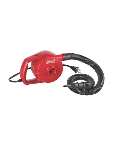 Coleman Electric Quick Pump-RED-One Size