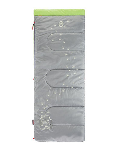 Coleman Illumi-Bug Youth Sleeping Bag-GREEN/GREY-One Size