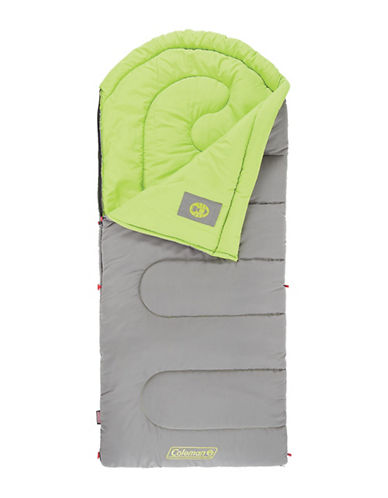 Coleman Dexter Point 40 Sleeping Bag-GREEN-One Size