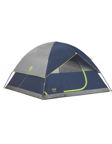 Coleman Sundome Six-Person Tent-NAVY-One Size