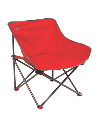 Coleman Kickback Chair-RED-One Size