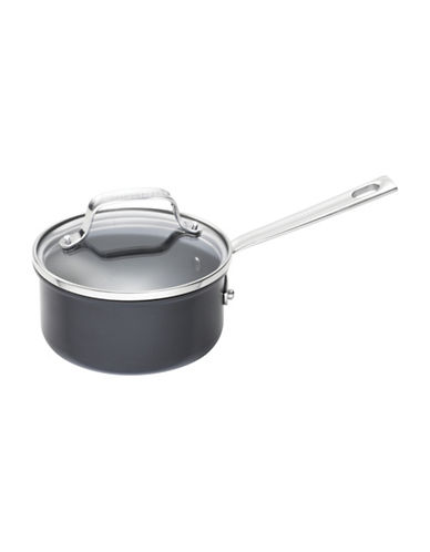 Emeril Lagasse 1-Quart Hard Anodized Saucepan-BLACK-One Size