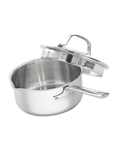 Emeril 2-Quart Lagasse Saucepan-STAINLESS STEEL-2 quart