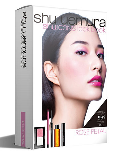 Shu Uemura Shu Icons Lookbook - Rose Petal Five-Piece Set-ROSE PETAL-One Size