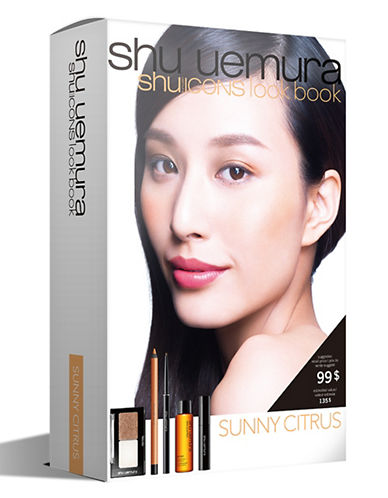 Shu Uemura Shu Icons Lookbook - Sunny Citrus Five-Piece Set-SUNNY CITRUS-One Size