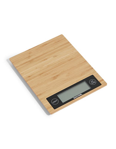 Springfield Bamboo Kitchen Scale-BEIGE-One Size