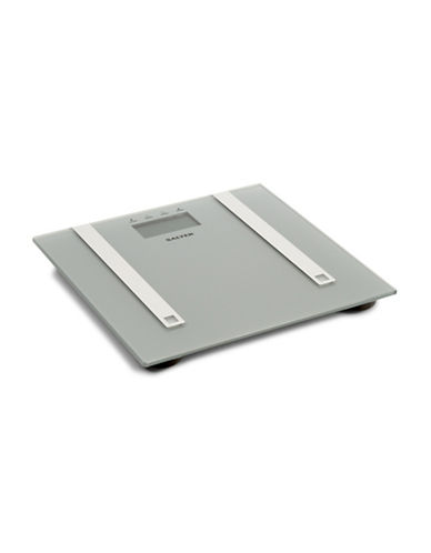 Springfield Glass Digital Body Fat Scale-SILVER-One Size