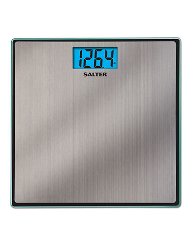 Springfield Salter Glass and Steel Accuglo Bath Scale-SILVER-One Size